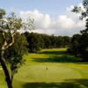 A view of a green at Hong Kong Golf Club - Fanling