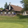A view of the clubhouse at Rockway Golf Club