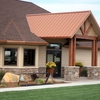 A view of the clubhouse at TimberStone Golf Course