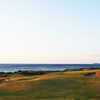 A view of the 15th green at Cabot Links