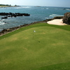 Hole 3B on the Pacifico Golf Course at the Punta Mita Golf Club in Nayarit, Mexico, is billed as the world's only natural island green. (Mike Bailey)