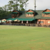 A view of the clubhouse at Swanson Golf Center