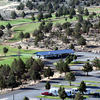Aerial view from Likely Place RV & Golf