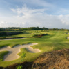 A view of a green at Green Monkey Course from Sandy Lane Golf Club