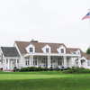 A view of the clubhouse at Grandview Golf Course