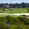 A view of the 14th hole at Shore from Monterey Peninsula Country Club