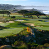 A view from tee #11 at Shore from Monterey Peninsula Country Club