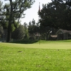 A view of the 18th green at San Gabriel Country Club
