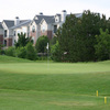 A view of hole #11 at Raccoon Creek Golf Course