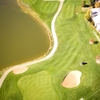 Aerial view of the 6th hole at Cattail Creek Golf Course
