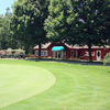 A view of the clubhouse at Hills Heart of the Lakes Golf Course