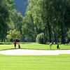 A view of hole #3 at Interlaken-Unterseen Golf Club