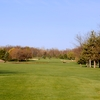 A view from tee at River Bank Golf Course