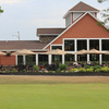 A view of the clubhouse at Braemar Country Club