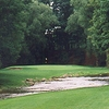 A view of a green at Twin Hills Golf Course