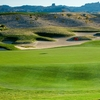A view of the 13th hole at Laughlin Ranch Golf Club