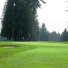 A view of green #15 at Cedarcrest Golf Course