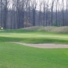 A view of green #13 at Rolling Meadows Golf Course