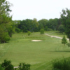 A view of hole #1 at Winding River Golf Club