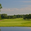 A view of the 14th hole from the Black course at Swan Lake Resort
