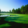 A view of the 5th hole from Nicklaus Course at Pinehills Golf Club