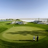 Doha Golf Club's 16th hole