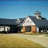 A view of the clubhouse at Eagle Knoll Golf Club