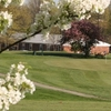 A spring view of green at Tates Creek Golf Course