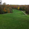 A fall view of tee and fairway at Cassel Hills Golf Course