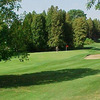 A view of the 9th green at Harmony Creek Golf Club