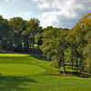 A view of the 13th green at Rolling Green Golf Club
