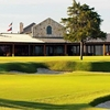 A view of the clubhouse at Dallas National Golf Club