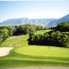 A view of green protected by sand trap at Ogden Golf & Country Club