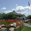 A view of the clubhouse at Schneiter's Bluff Golf Club