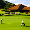 A view of the clubhouse at Ayala Greenfield Golf & Leisure Club