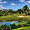 A view of the island green #9 at Masters Course from Manila Southwoods Golf & Country Club