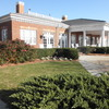 A view of the clubhouse at Virginia Beach National Golf Club