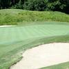 A view of green #13 at Virginia Beach National Golf Club