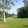A sunny view of a green at Agawam Municipal Golf Course