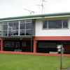 A view of the clubhouse at Onewhero Golf Club
