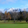 A view of the 9th hole with mountains in background at Hanmer Springs Golf Club