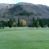 A view of green at Kurow Golf Club