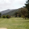 A view of the 1st hole at Wainuiomata Golf Club