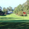 A view of the 1st hole at Cabramatta Golf Club