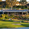 A view of the clubhouse at Campbelltown Golf Club