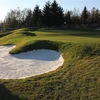 A view of a bunkered hole at Teplice Golf Club