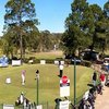 A view of the practice putting green at Morisset Golf Club