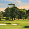 A view of the 15th green at The Australian Golf Club