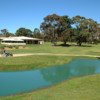 A view of the clubhouse at Portarlington Golf Club