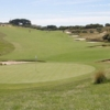 A view of the 17th green at Portsea Golf Club